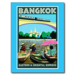 Beautiful Asia photos - bangkok_thailand_vintage_travel_poster_postcard.jpg